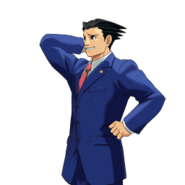 PXZ2 Phoenix Wright (full) - abashed (left)