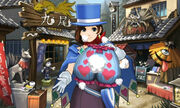 Trucy Wright and her Magic panties in 3D form