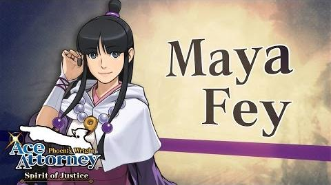 Phoenix Wright Ace Attorney - Spirit of Justice - Maya Trailer