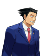 PXZ2 Phoenix Wright (zoom) - exasperated (right)