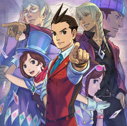 Apollo Justice 3DS Promotional Art