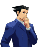 PXZ2 Phoenix Wright (zoom) - thinking (right)