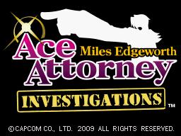 4719 - Ace Attorney Investigations - Miles Edgeworth (U) 39 32737
