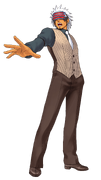 Godot With A Opened Mouth