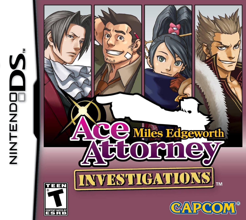 Ace Attorney Investigations Miles Edgeworth Attorneypedia