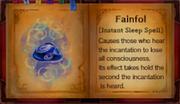 Fainfol spell