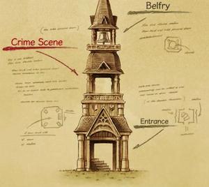 Bell Tower floor plan