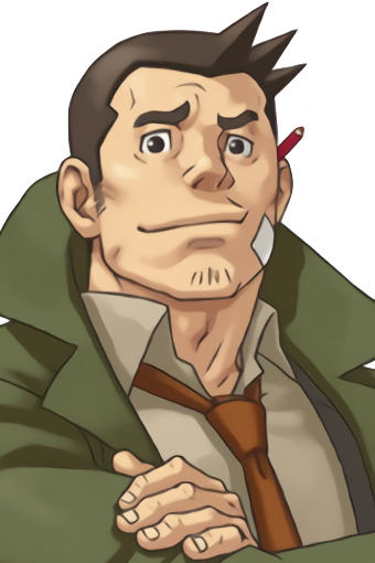 Dick Gumshoe Ace Attorney Wiki Fandom Powered By Wikia