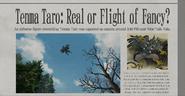 Tenma Taro newspaper