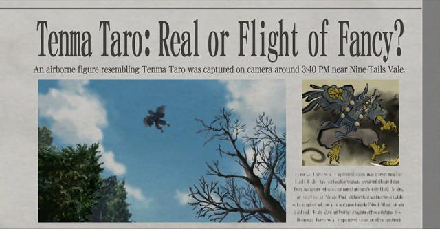 File:Tenma Taro newspaper.png