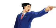 PXZ2 Phoenix Wright (zoom) - objecting (right)