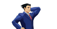 PXZ2 Phoenix Wright (zoom) - abashed (right)