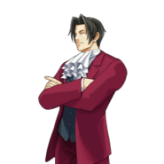 PXZ2 Miles Edgeworth (full) - thinking