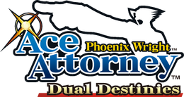 Phoenix Wright Ace Attorney Dual Destinies logo