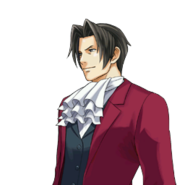 PXZ2 Miles Edgeworth (zoom) - smiling