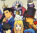 The Art of Professor Layton vs. Gyakuten Saiban