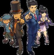 PLvsPW main characters