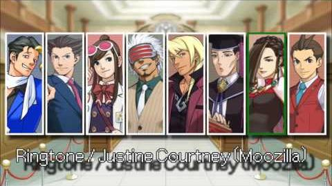 Ace Attorney- All Ringtones 2013