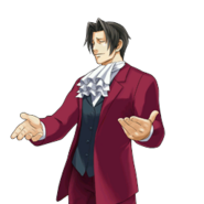 PXZ2 Miles Edgeworth (full) - confident