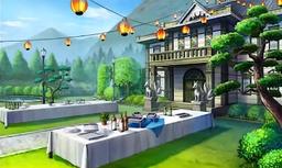 Kyubi Manor Garden