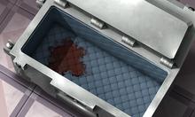 Blutiger transportwagen