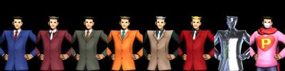 Phoenix wright clothes