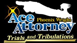 Phoenix Wright Trials and Tribulations Logo