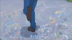Anime OP1 - chalk drawings