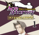Ace Attorney Investigations: Miles Edgeworth (manga)