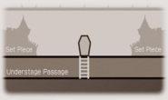 Penrose Theater stage map