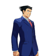 PXZ2 Phoenix Wright (full) - shocked (right)