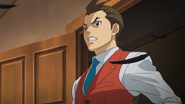 Apollo Justice - Feathers scene