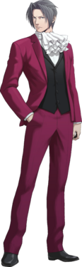 Miles Edgeworth Trilogy Art