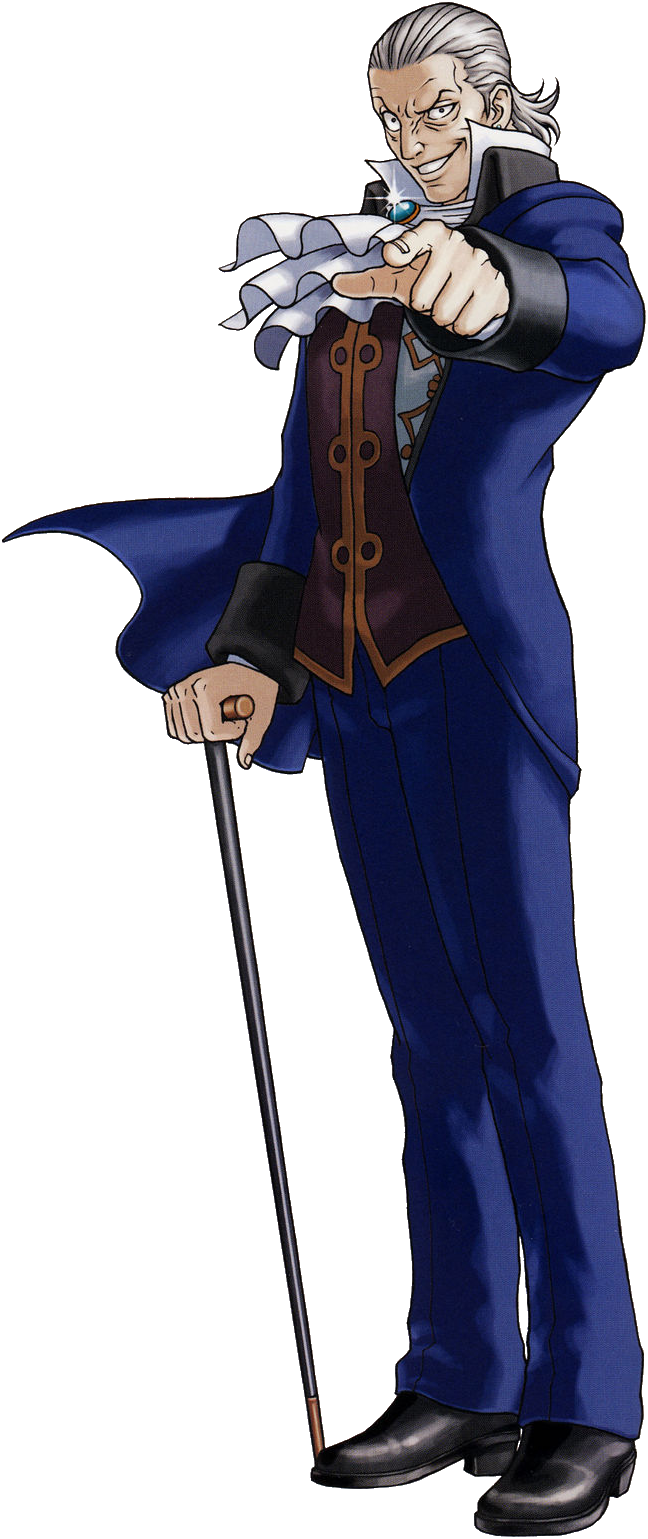 Manfred Von Karma Attorneypedia Fandom Powered By Wikia