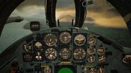 F-104C Cockpit(Noon-Sunset)