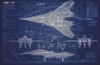 ADF-11F Raven Blueprints