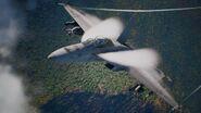 FA-18F High-G Flyby