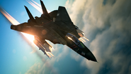 Mission 20 F-14D Razgriz 8AAM firing