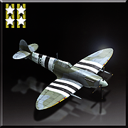 Supermarine Spitfire Mk.IXe -Flying Aces- Icon