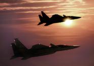 F-15SMT Squadron at Sunset(AC3 PAL Press Kit)