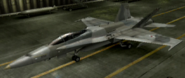 F A-18C Soldier color hangar