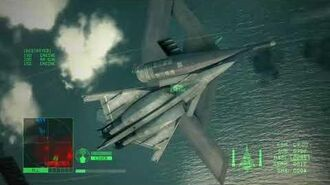 Highlight Ace Combat 6 Ace Hunt FENKIS (Heavy Command Cruiser)
