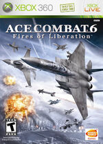 Ace Combat 6 Box Art North America