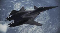 ADF-01 FALKEN Infinity flyby