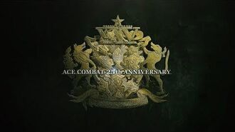 ACE COMBAT(TM)シリーズ 25周年ロゴトレーラー