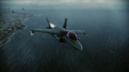 F-35B Pipeline Flyby 2
