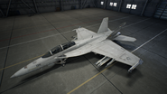 FA-18F AC7 Color 6 Hangar