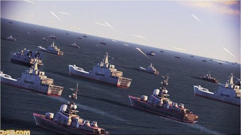 Ace Combat- Infinity Emergency Sea Strike (Rank S)