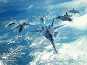 Ace Combat X Special Wallpaper 1024x768