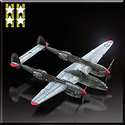 P-38L -Flying Aces- Icon